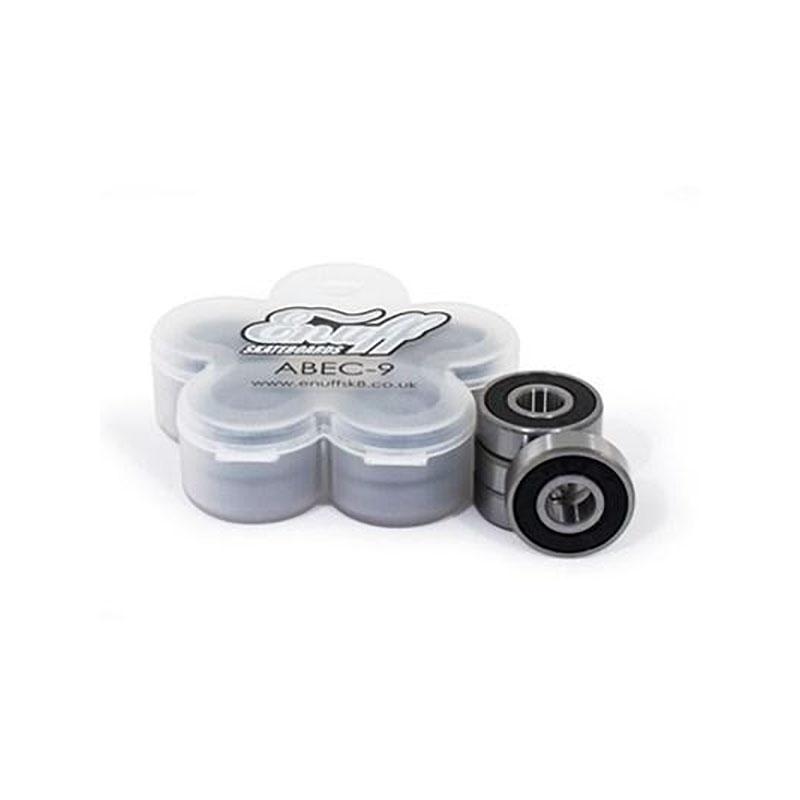 Enuff Skateboard Abec 9 Waterproof Bearings Black (8 Pack)