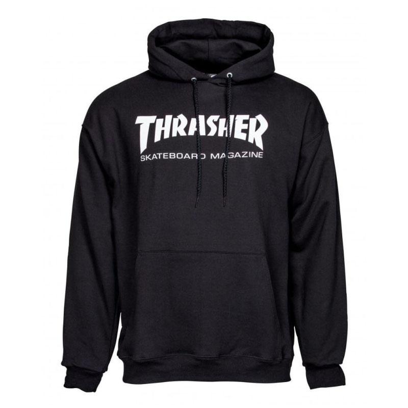 Thrasher Classic Skateboard Mag Hoodie Black