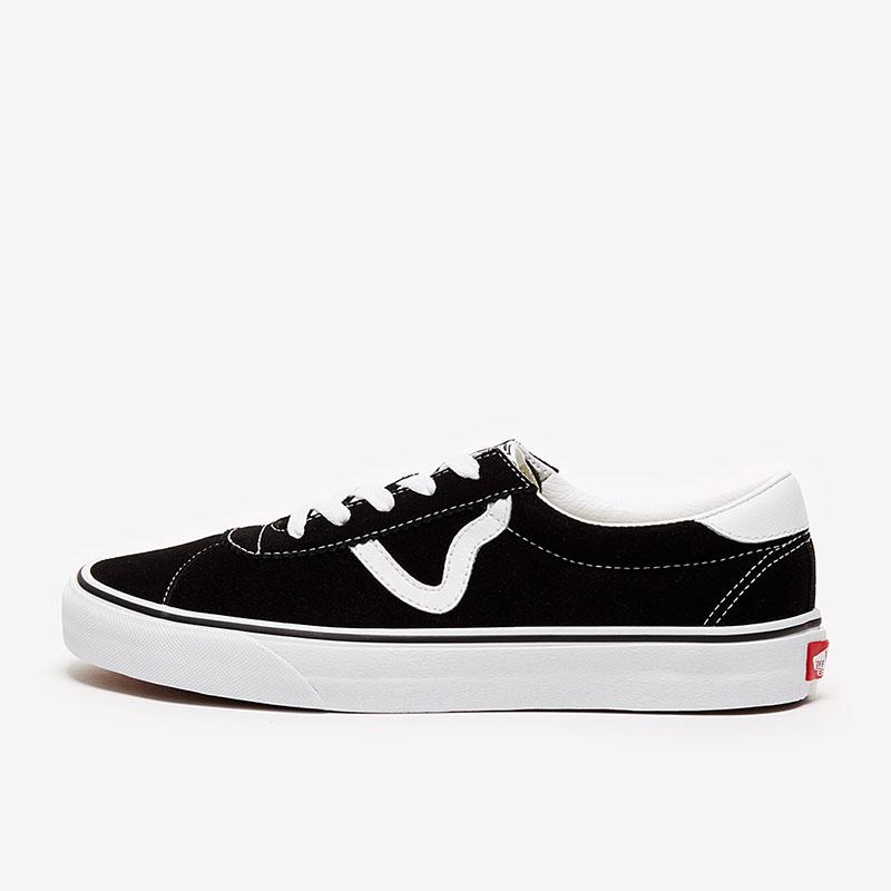 Vans sport (suede)black white