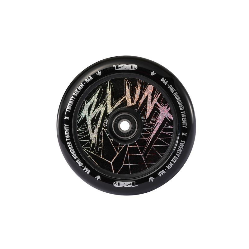 Blunt 120 mm classic hologram wheel black