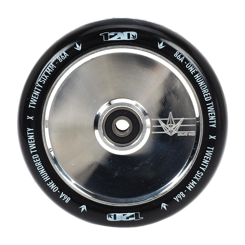 Blunt 120mm Hollow core wheel polished