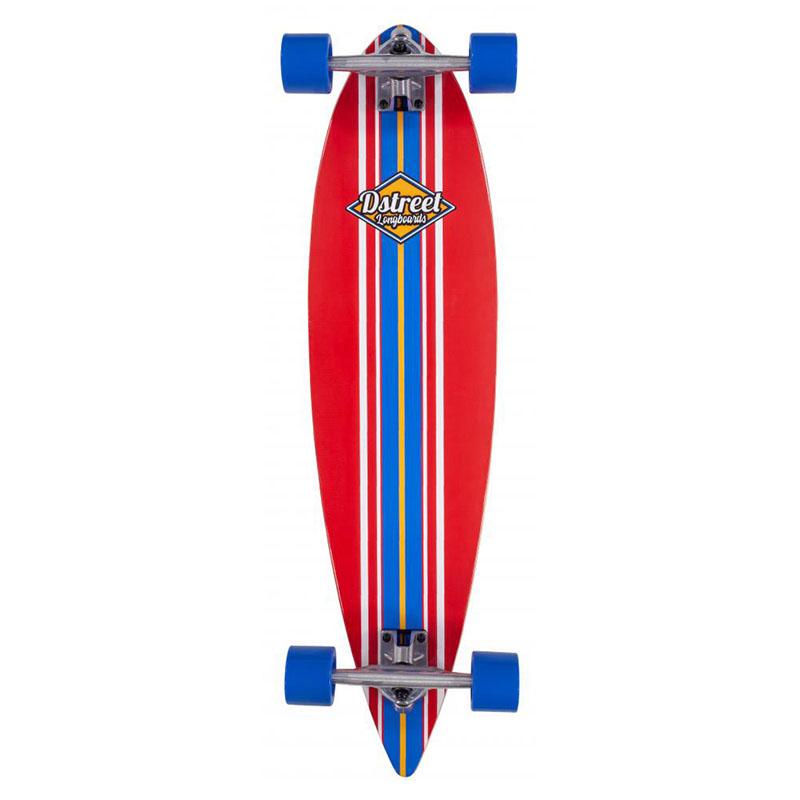 """D-Street Pintail 35"""" Ocean Longboard Red"""
