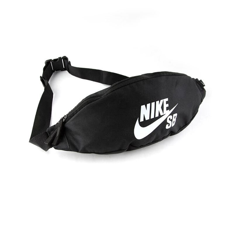 Nike SB Heritage Cross Body Bag Black White