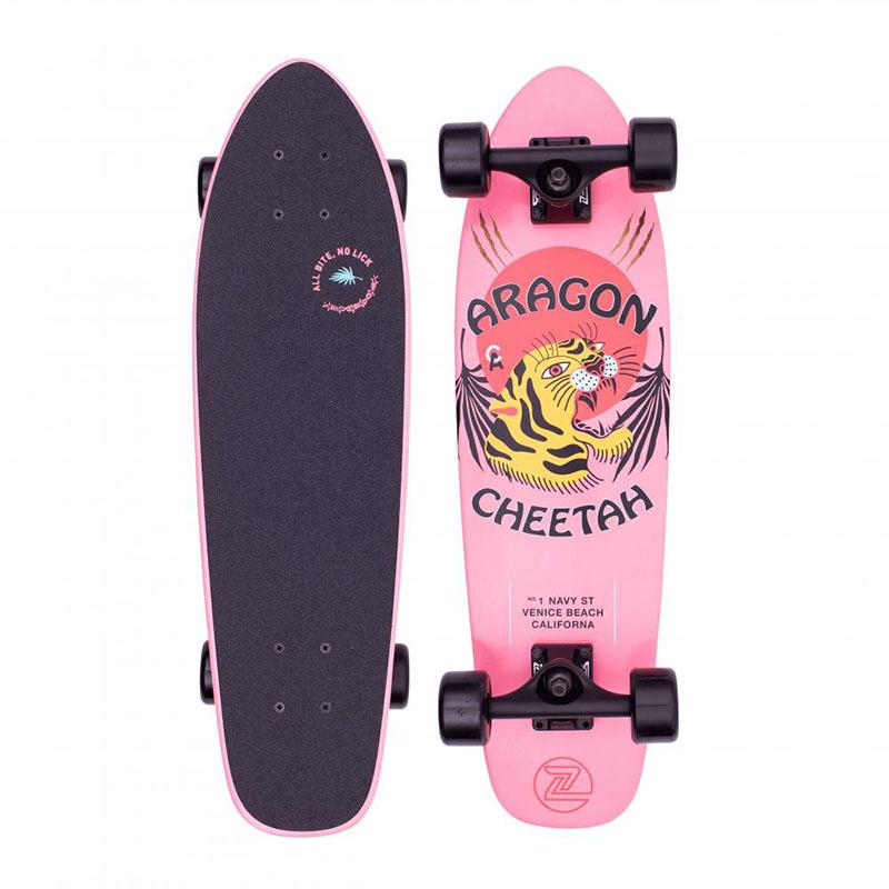 "Z-Flex Aragon Cheetah Cruiser 27"" Pink"