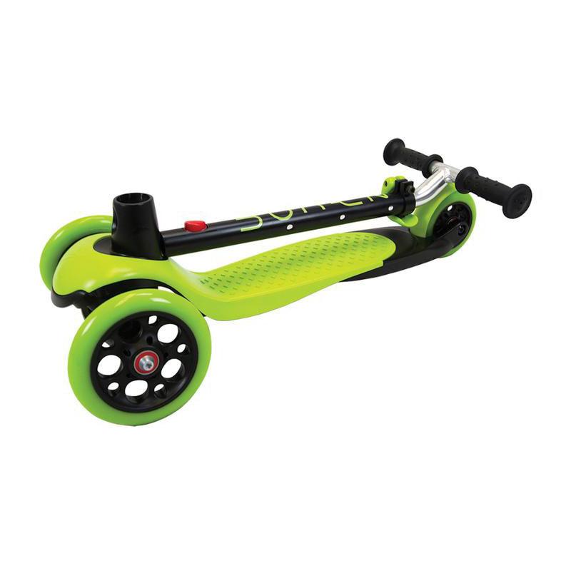 Zycom Zing 3 Wheel Kids Scooter with light up wheels Green