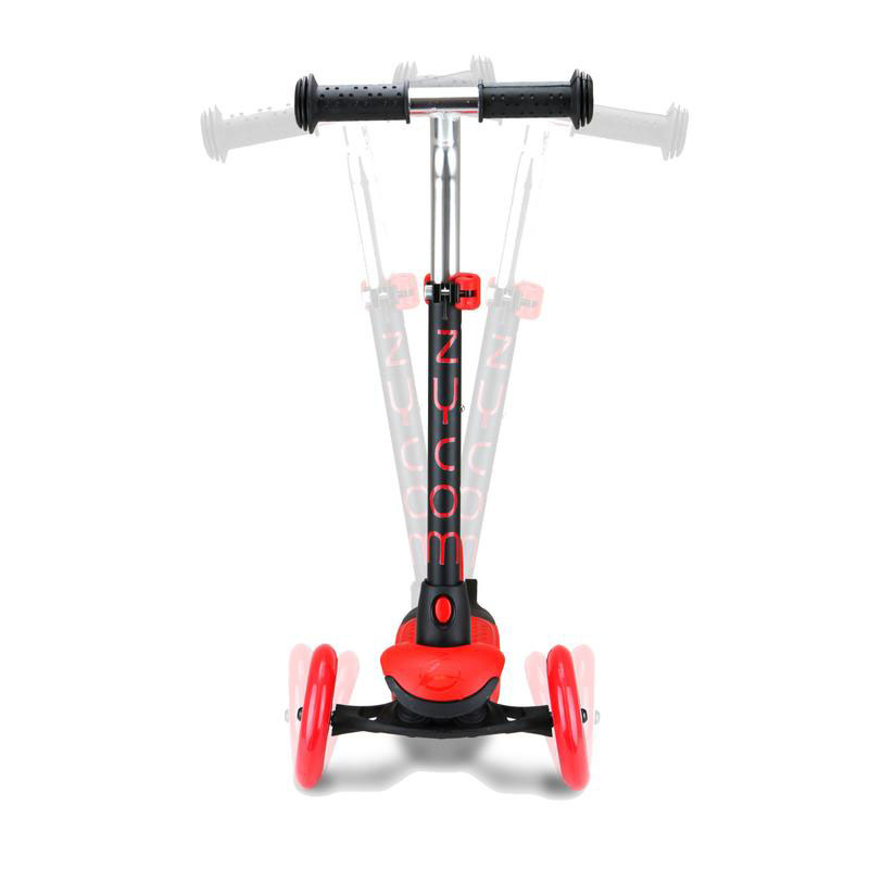 Zycom Zing 3 Wheel Kids Scooter with light up wheels Red