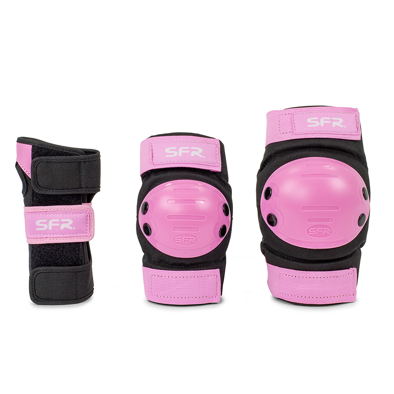 SFR Youth Ramp Triple Pad Set in Pink