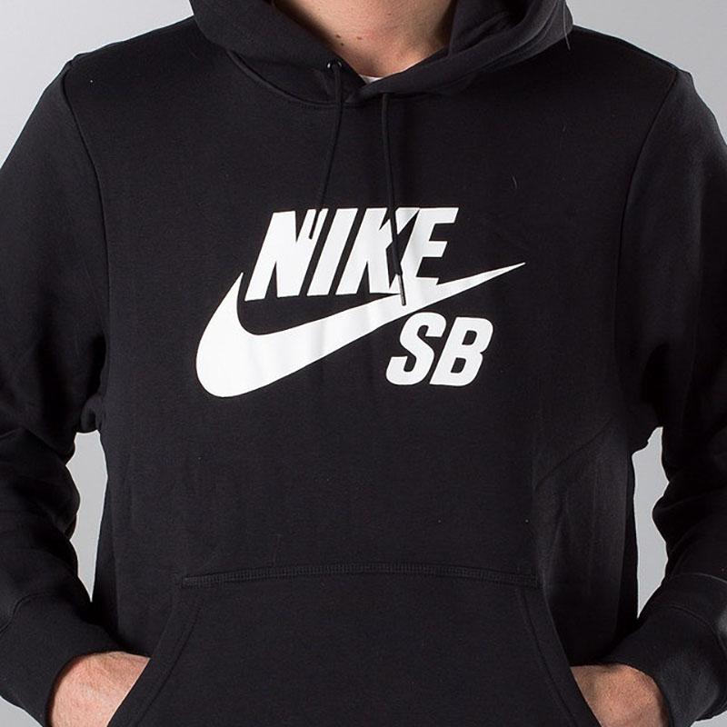 Nike Sb icon hoodie Black