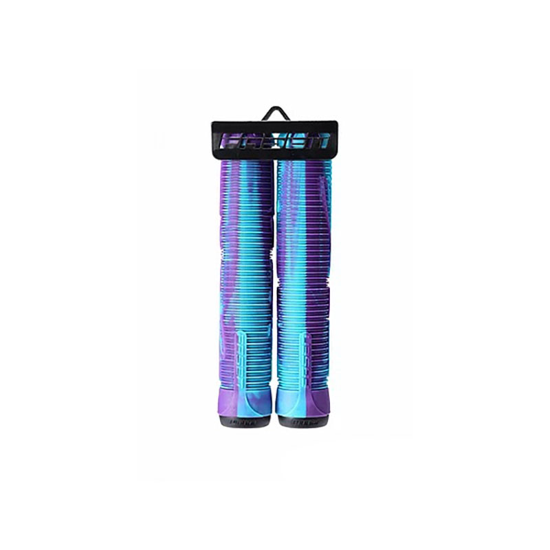 Fasen Fast Hands Scooter Grips Teal Purple