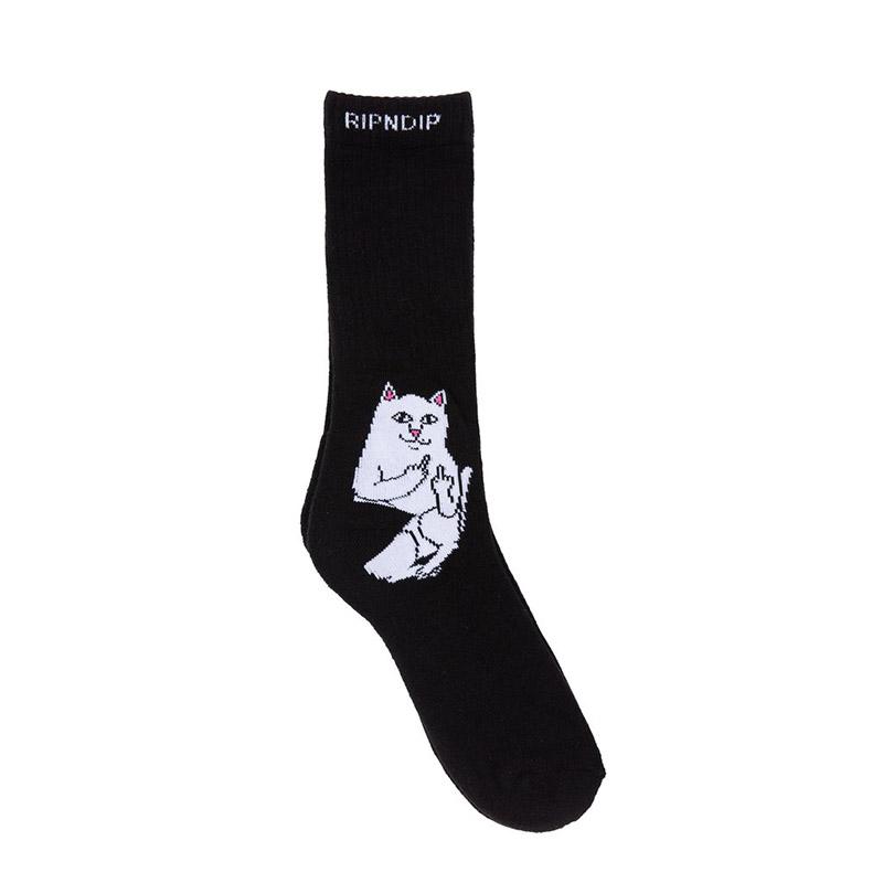 Ripndip Lord Nermal Socks Black One Size