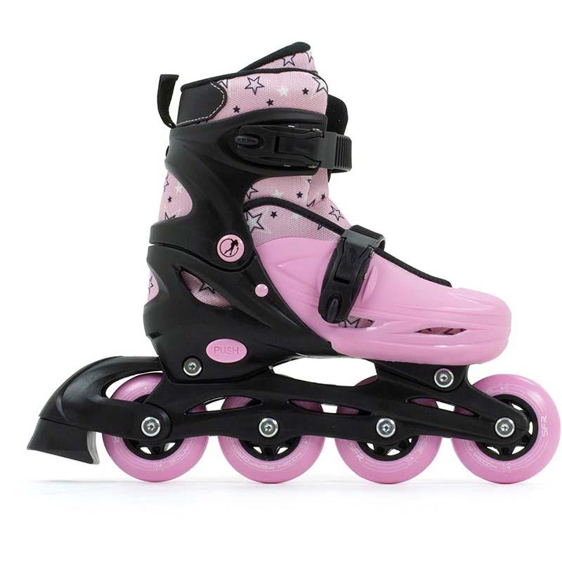 Sfr Plasma adjustable inline skate pink