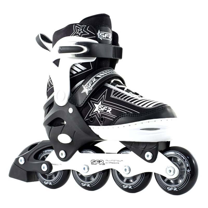 SFR Pulsar Adjustable Inline Skate Black