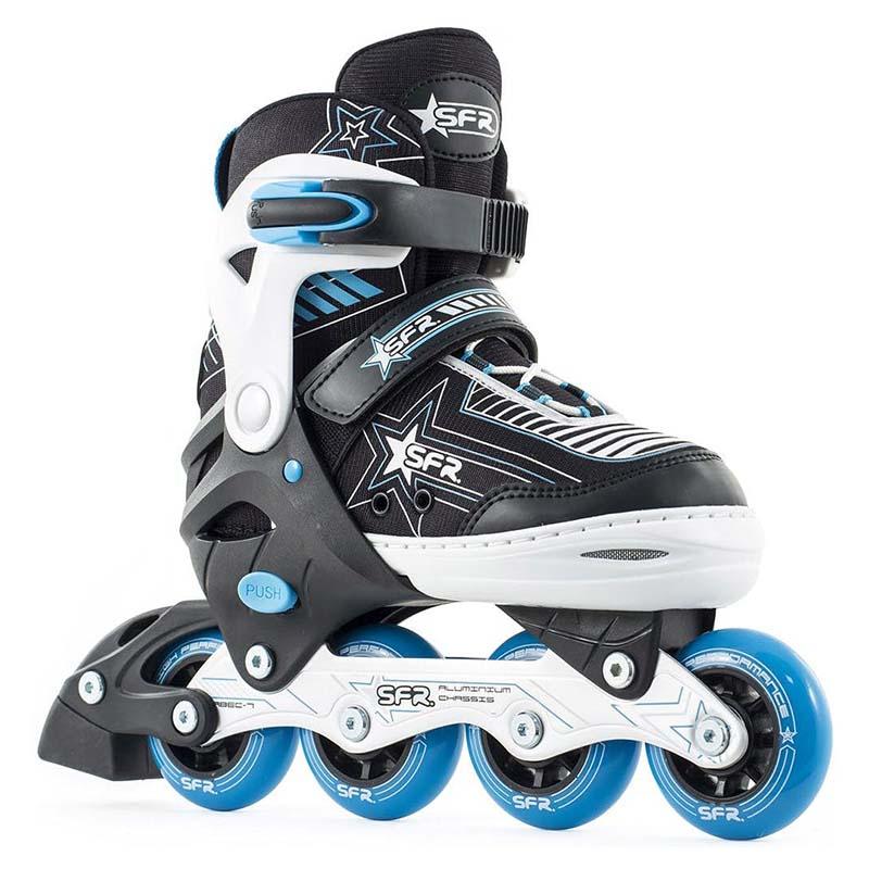 SFR Pulsar Adjustable Inline Skate Blue