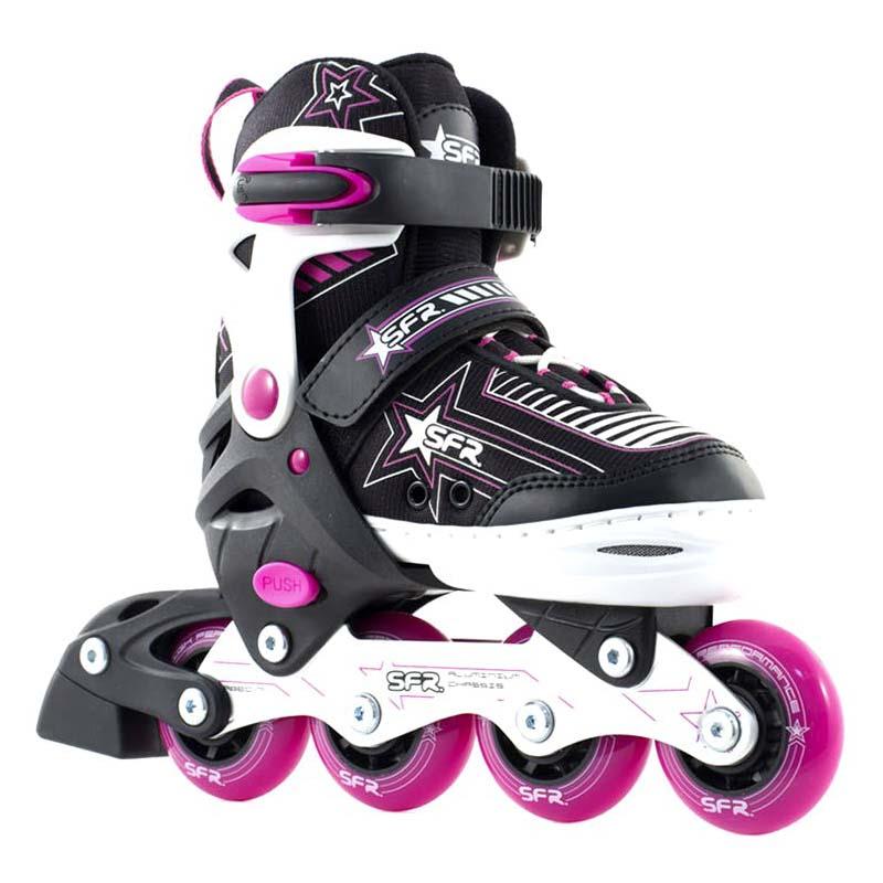 SFR Pulsar Adjustable Inline Skate Pink