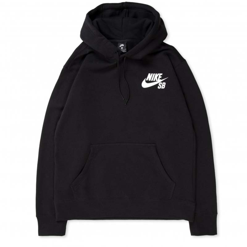 Nike SB Icon Hooded Sweatshirt Black