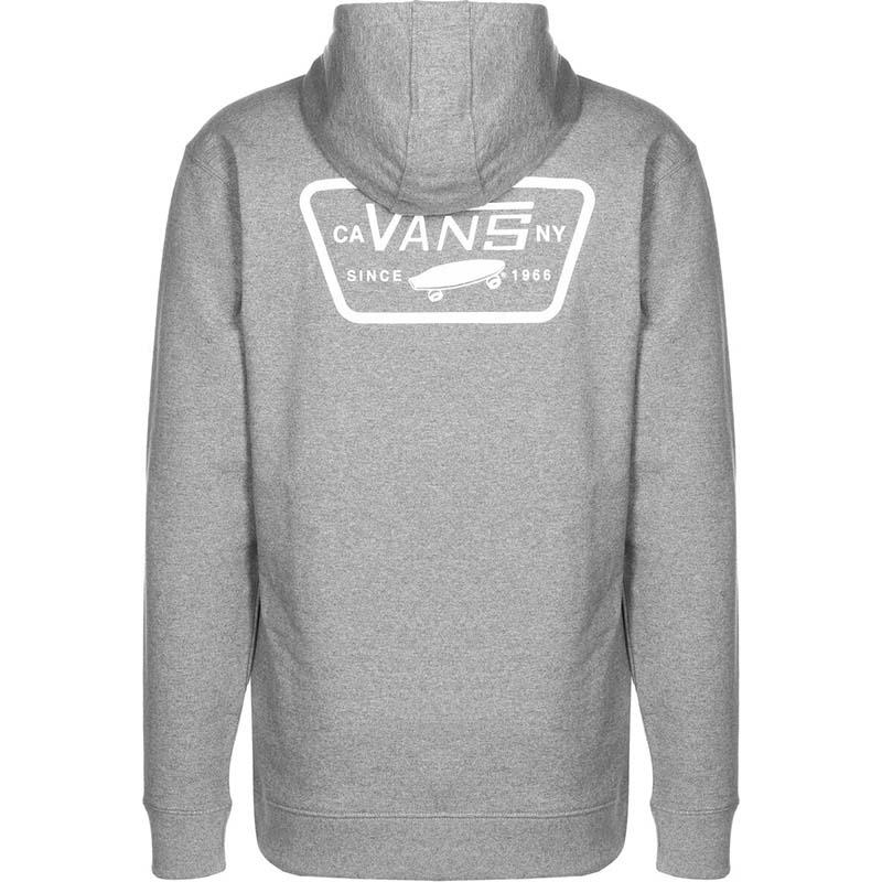Vans Full Patch Hooded Sweatshirt Cement Heather