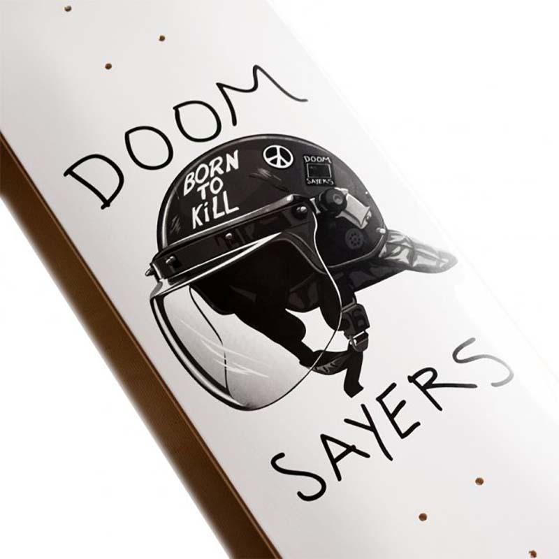 """Doom Sayers Team Riot Helmet deck 8.25"""""""