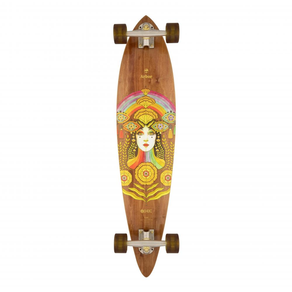 Arbor Performance Complete Solstice B4BC Fish Pintail Longboard