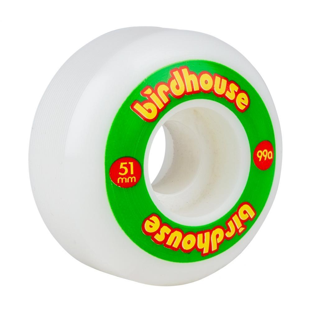 Birdhouse Wheels Rasta Logo 51mm 99a (PK 4)