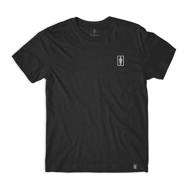 Girl Smoke Session T Shirt Black