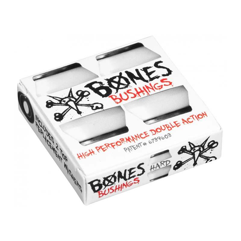 Bones Bushings Black White Hard 96a (pack of 4)