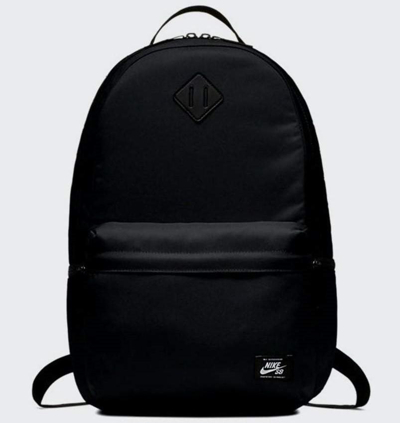 Nike SB Icon Backpack Black/Black/White