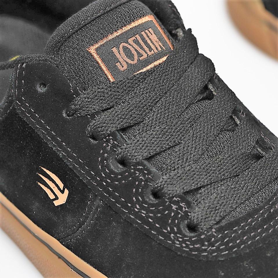 Etnies Joslin Vulc shoes Black/Gum