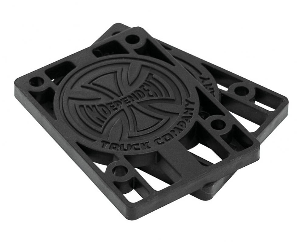 Indy Riser Pads (Pack of 2) Black 1/4 IN