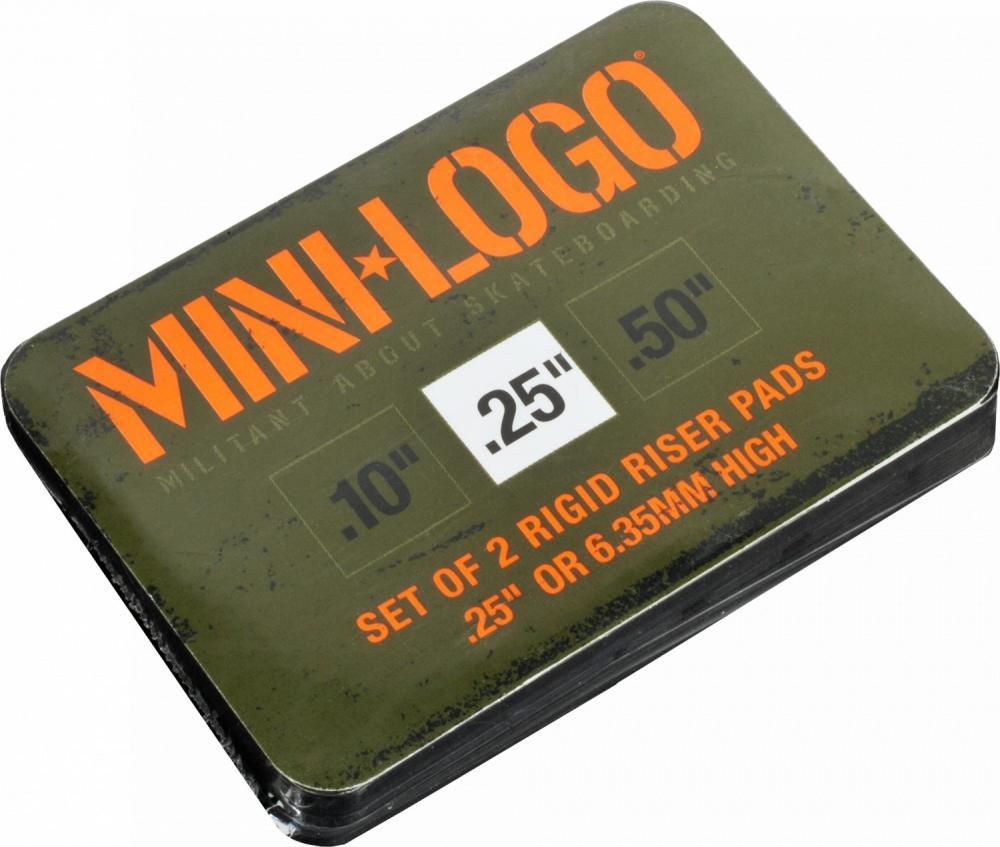 Mini Logo Risers 0.25 IN