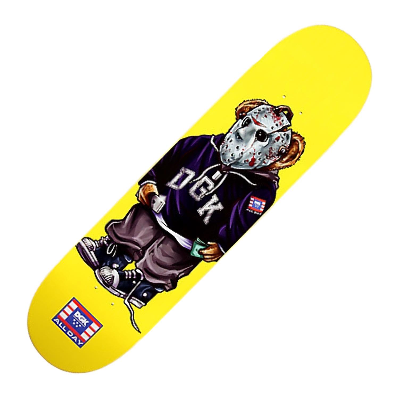 DGK The Plug Skateboard Deck 8.06″