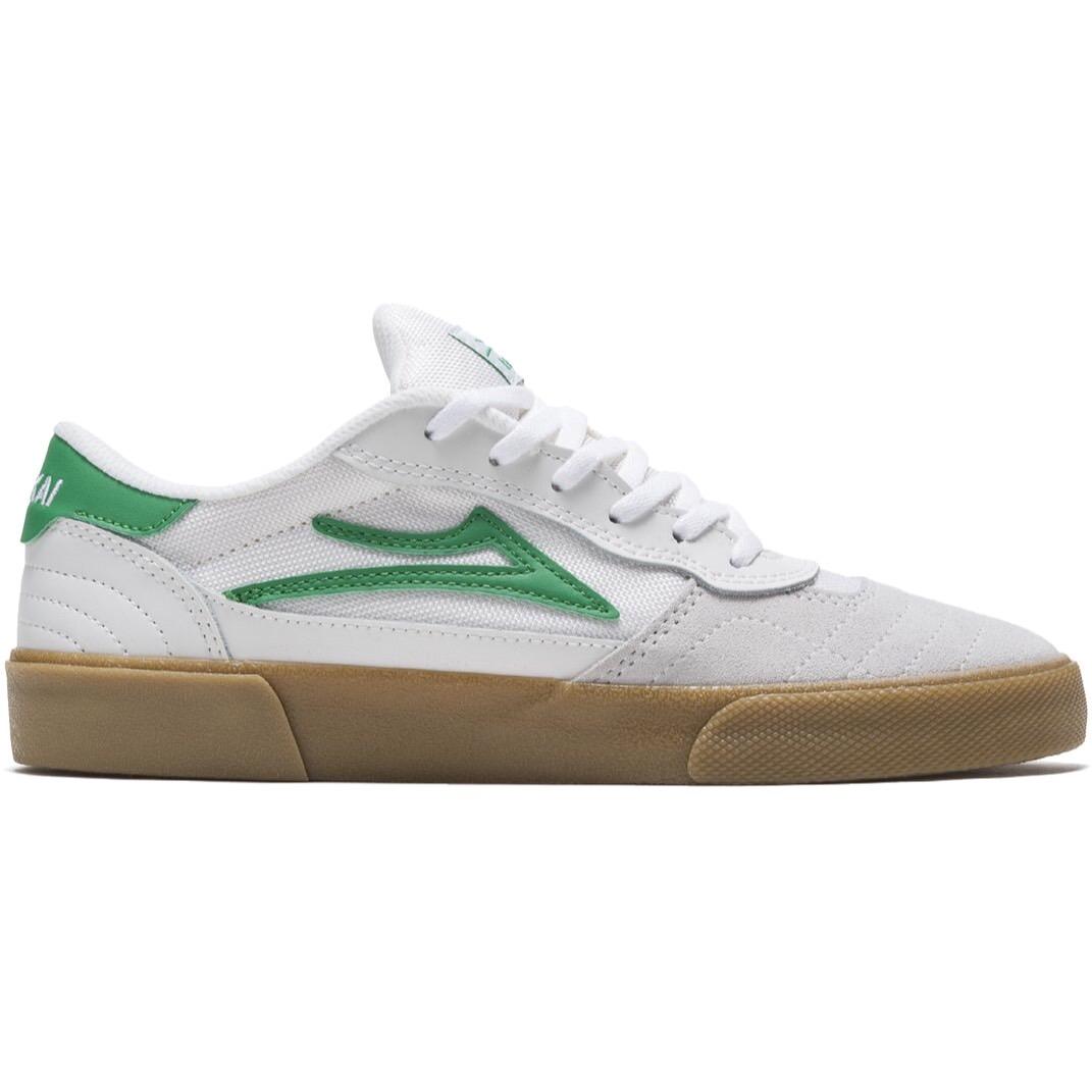 Lakai Cambridge Shoes White/Grass