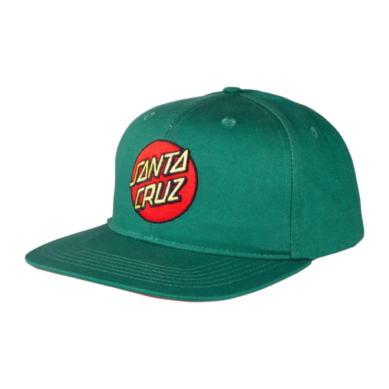 Santa Cruz Cap Classic Dot Snapback Evergreen