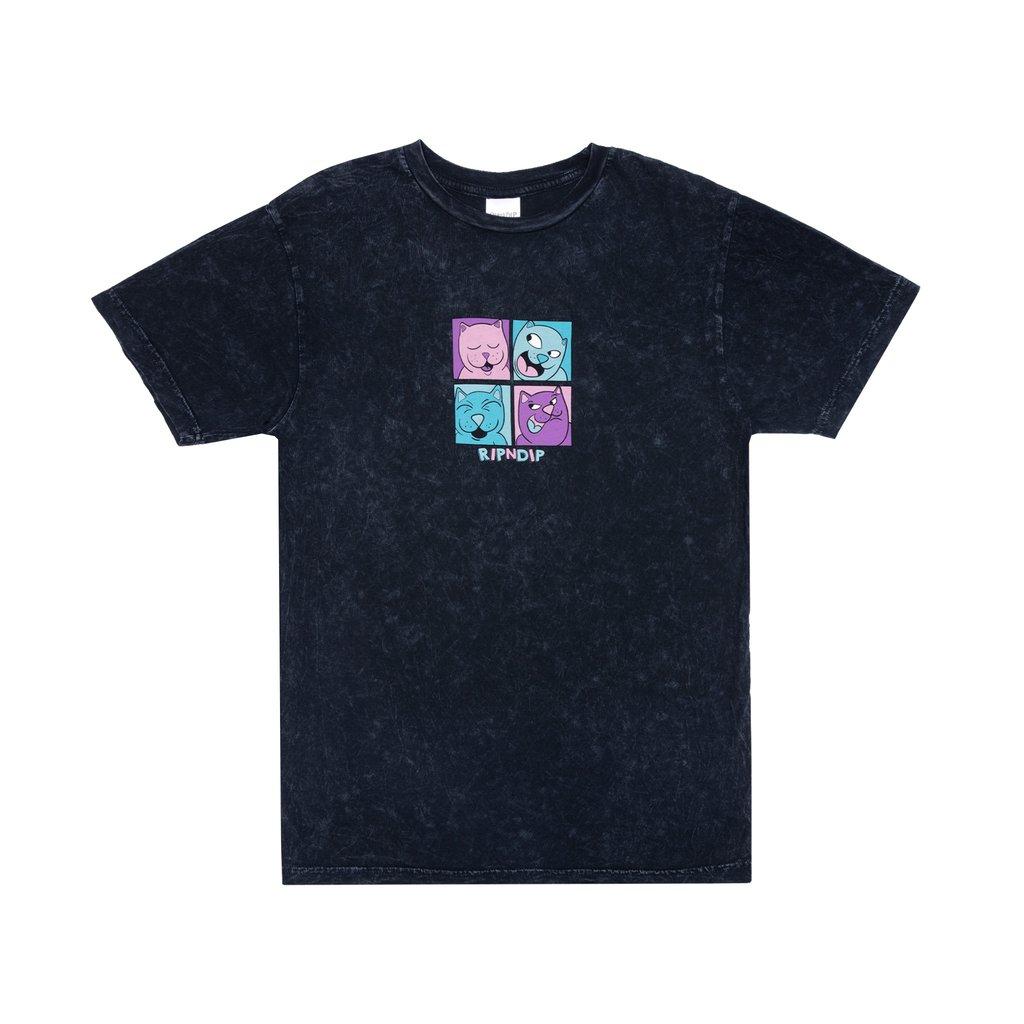 Ripndip Pop Nerm T-Shirt (Black Mineral Wash)