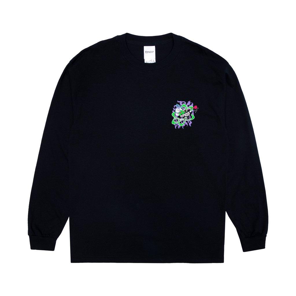 Ripndip Astronomical Long Sleeve T-Shirt (Black)