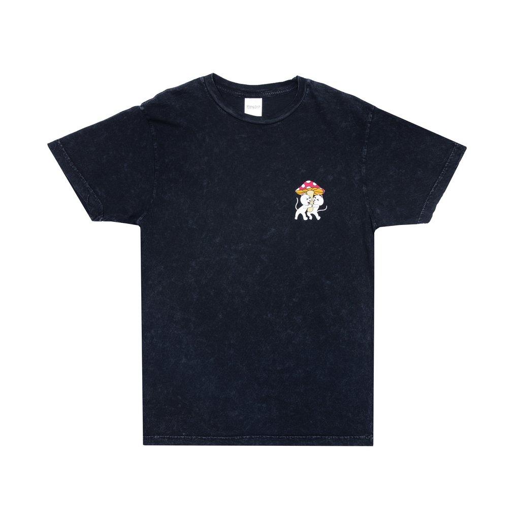 Ripndip Sharing Is Caring T-shirt (Black Mineral Wash)