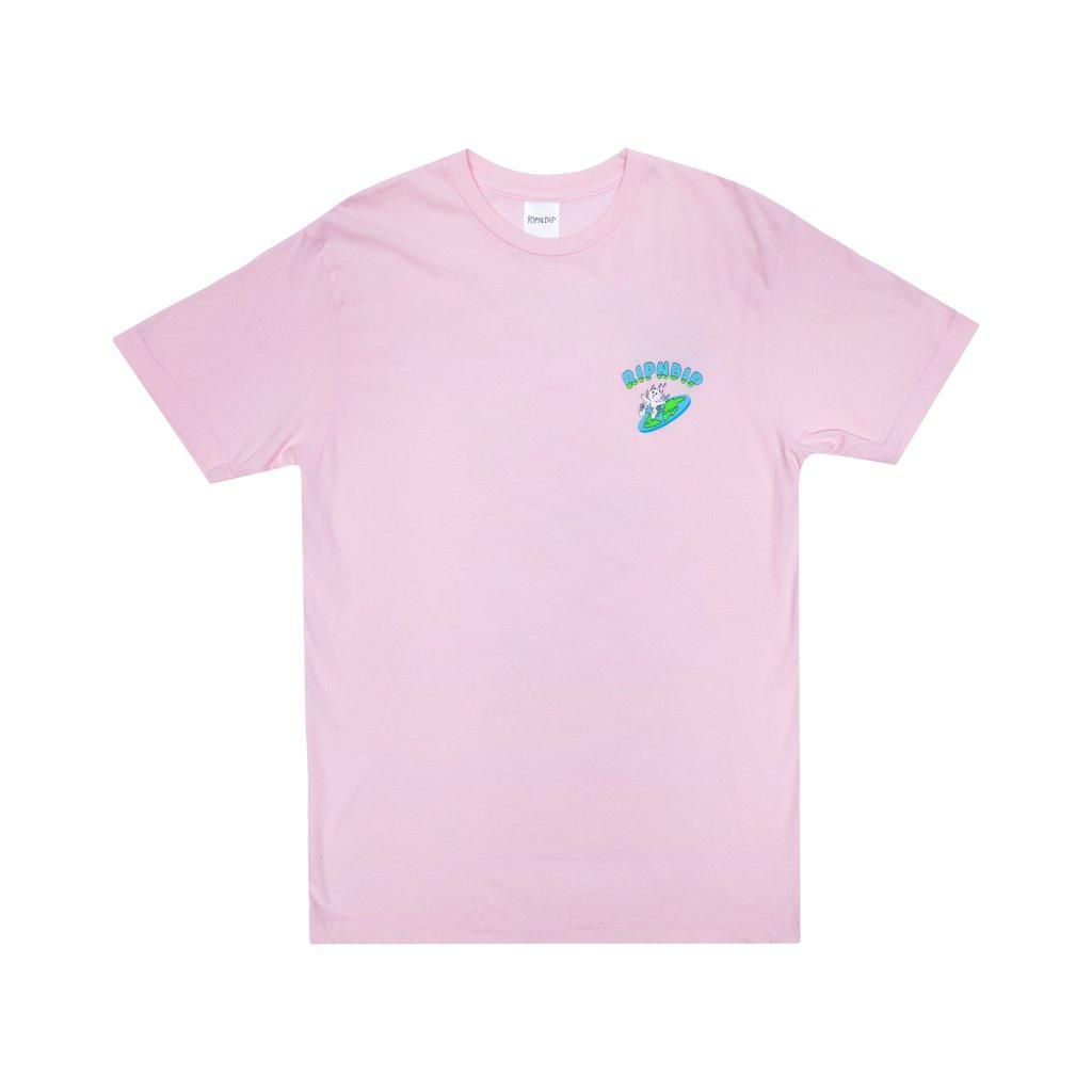 Ripndip The World Is Yours T-Shirt (Light Pink)