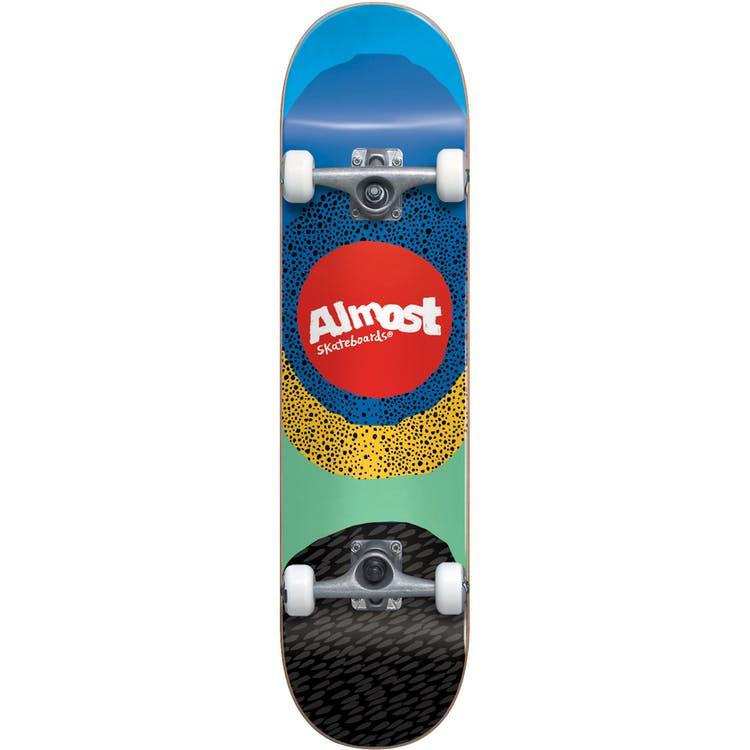 "Almost Radiate FP Complete Skateboard - Blue 8.125"""