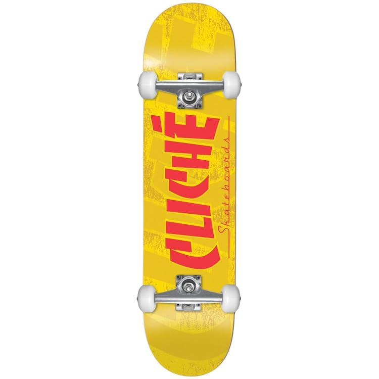 "Cliche Banco FP Complete Skateboard - Yellow 7.5""Cliche Banco FP Complete Skateboard - Yellow 7.5"" Share Facebook Twitter Pinterest Cliche Banco FP Complete Skateboard - Yellow 7.5"""