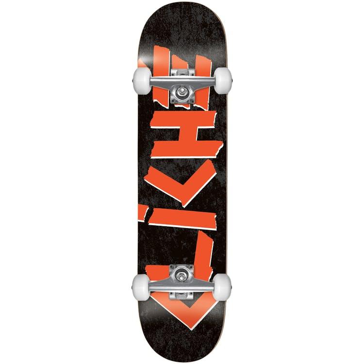 "Cliche Scotch FP Complete Skateboard - Black/Red 7.75"""