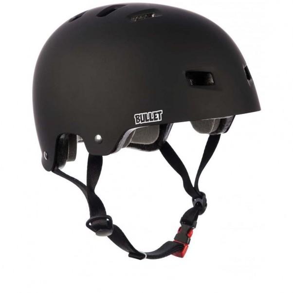 Bullet X Santa Cruz Helmet Screaming Hand Matt Black Adult