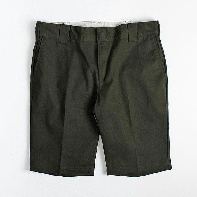 Dickies Slim Fit Shorts – Olive Green