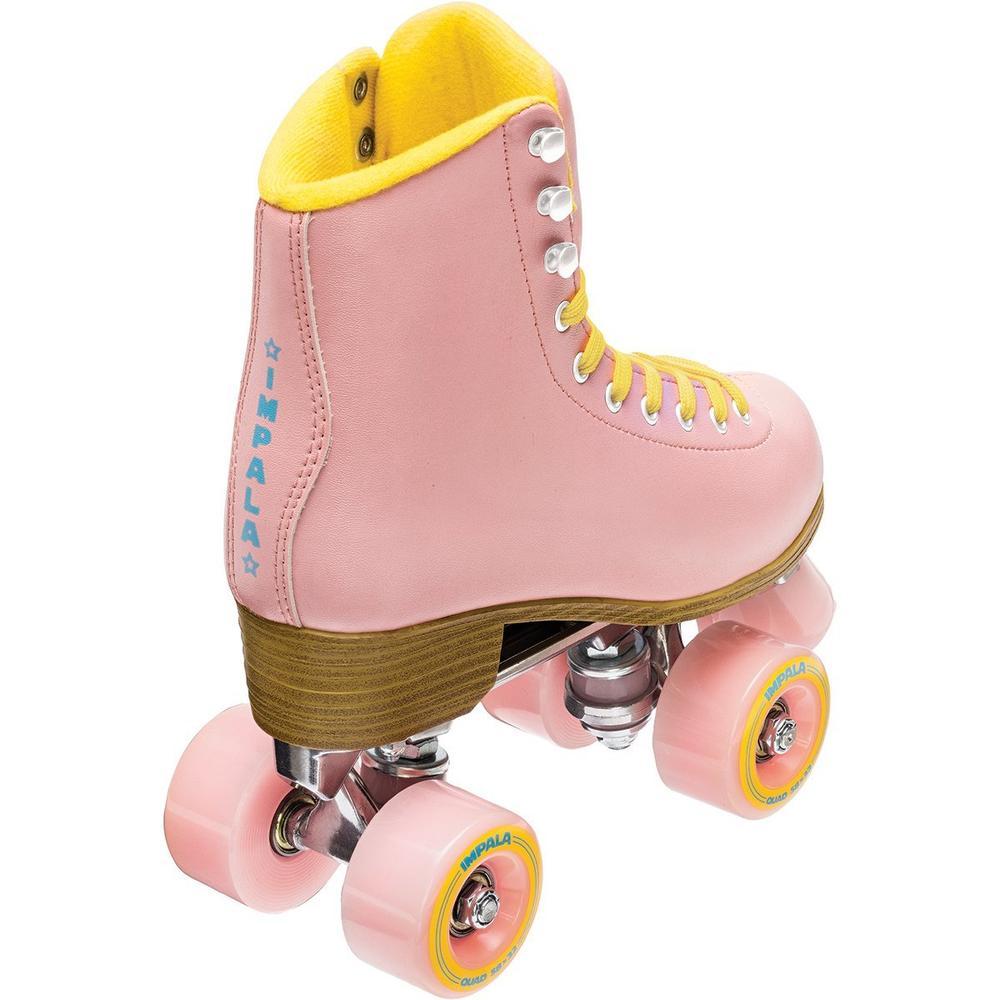 Impala Quad Rollerskates Pink/Yellow