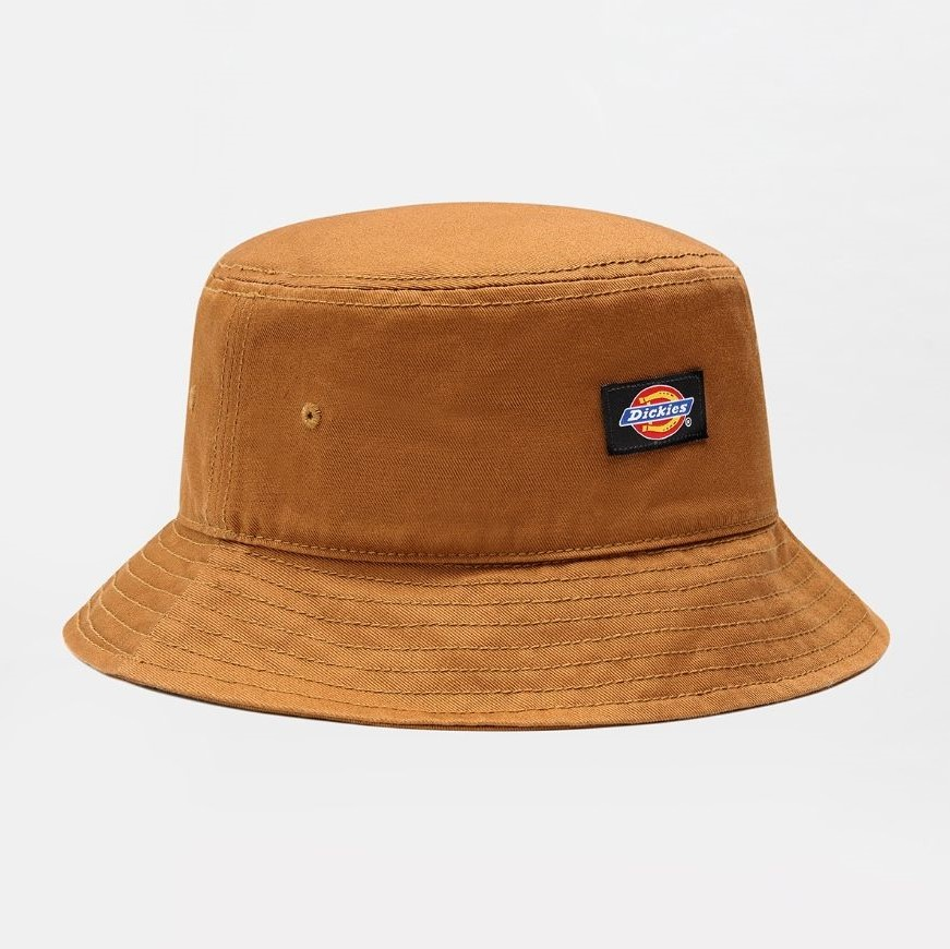 Dickies Clarks Grove Bucket Hat – Brown