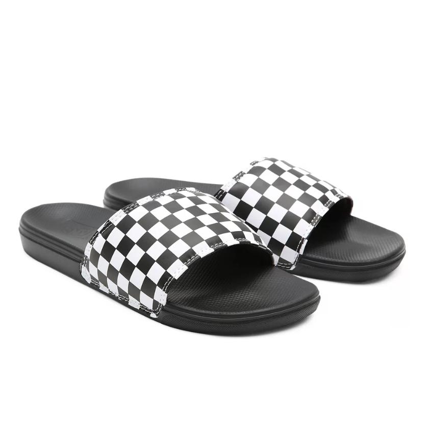 Vans Checkerboard Mens La Costa Slide-On Shoes
