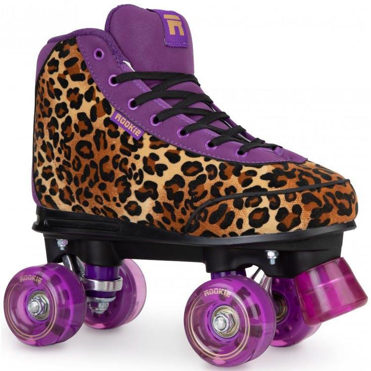 Rookie Harmony Quad Roller Skates - Leopard