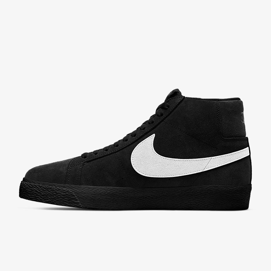 Nike SB Zoom Blazer Mid - Black