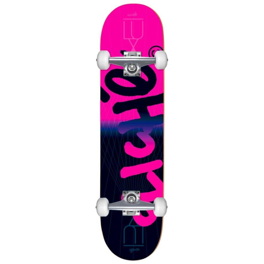 Cliche Lux Handwritten Complete Skateboard Pink 8.125