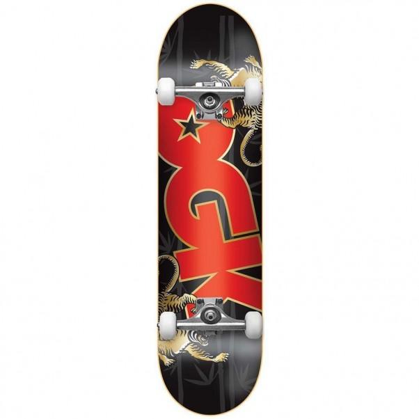 DGK Skateboards Strength Factory Complete Skateboard Black 8