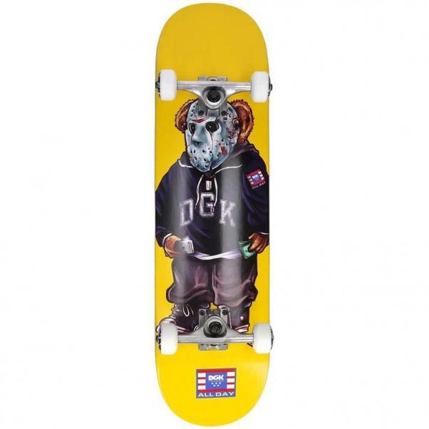 "DGK Skateboards Complete Setup Yellow 8"""