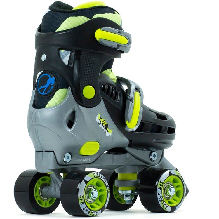 SFR Hurricane III Quad Roller Skates - Black / Yellow